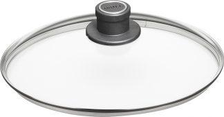 Pokrovka - steklena, okrogla
